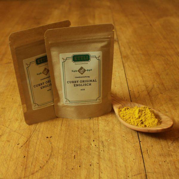 Curry Englisch mild