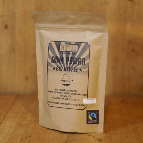 products bio kaffee gemahlen don pedro 250g 04 007 hofladen melder
