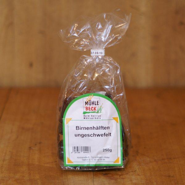 products birnenhaelften ungeschwefelt 250g 02 021 hofladen melder