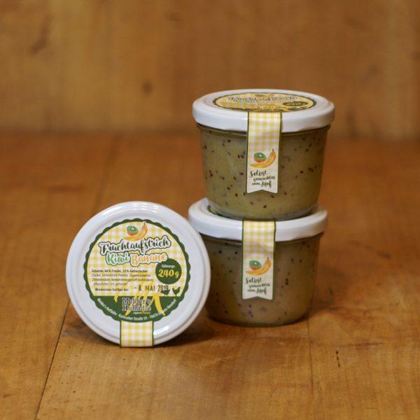 products fruchtaufstrich kiwi banane 240g 05 033 hofladen melder