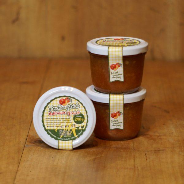 products fruchtaufstrich nektarine pfirsich 240g 05 035 hofladen melder