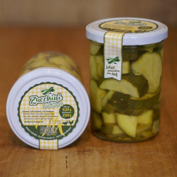 products zucchini suess sauer 430g 05 060 hofladen melder