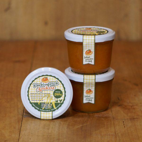 products fruchtaufstrich aprikose 240g 05 015 hofladen melder