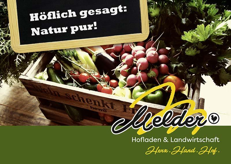 Hofladen Melder - Natur pur