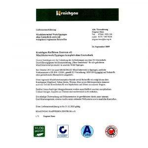 Futtermittel Zertifikat