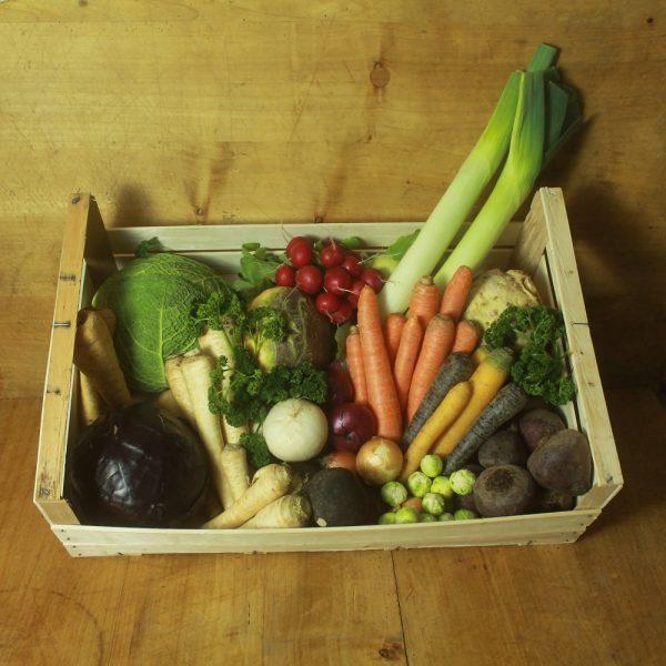 Gemüsekiste der Saison - Hofladen-Melder