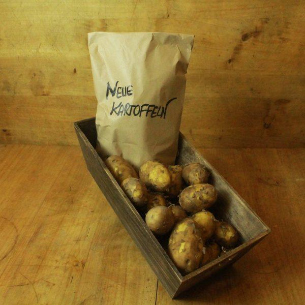Neue Kartoffeln festkochend