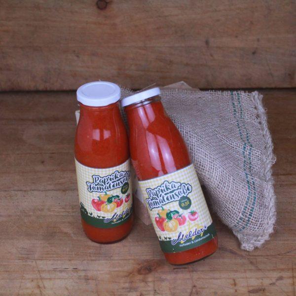 Paprika-Tomatensoße