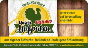 Freiland Hofputen Verkaufsnachricht
