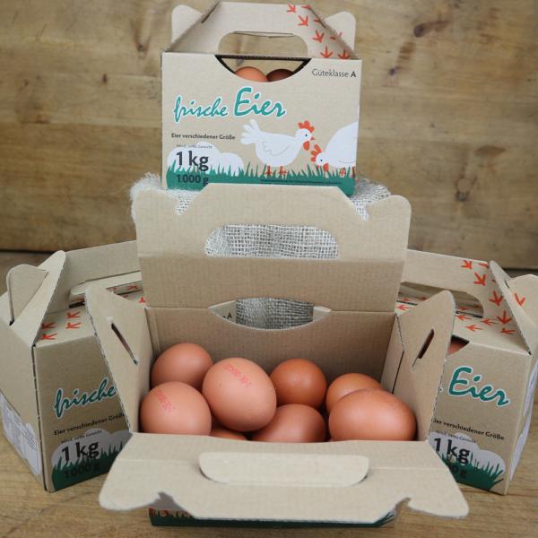 Eier Box 1kg